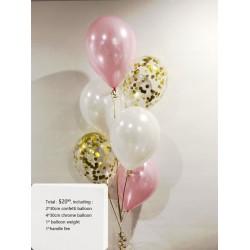 bouquet - chrome - confetti - 00088